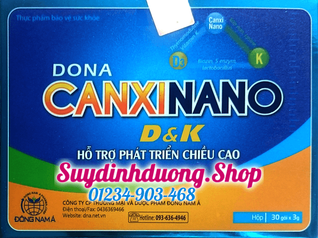 Dona canxi D&K